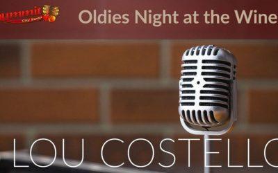 Wine & Oldies Night with DJ Lou Costello
