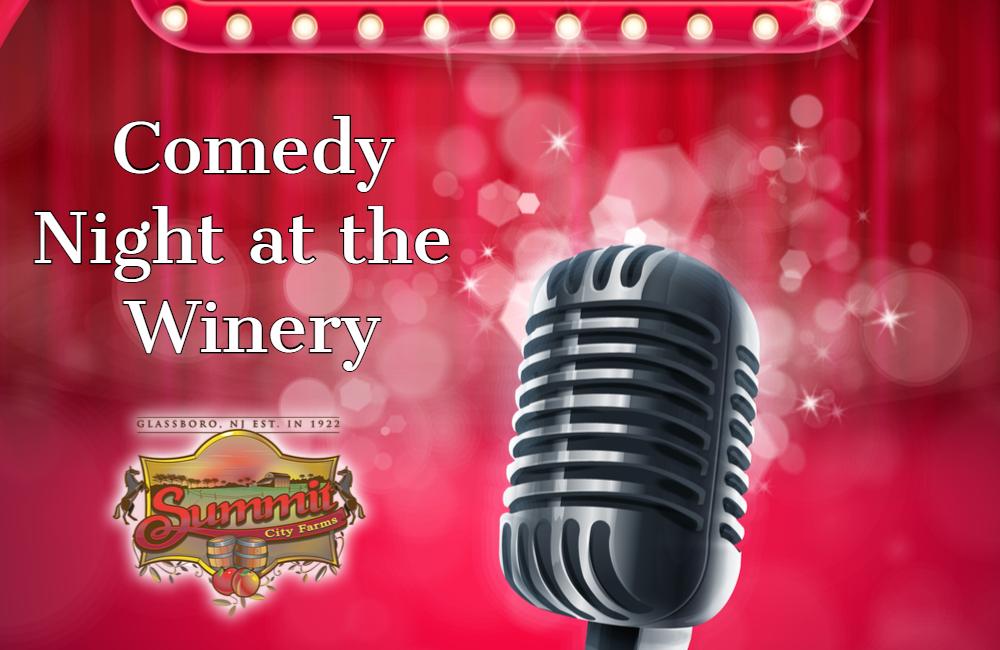 Comedy Night at Summit City Winery 12/19